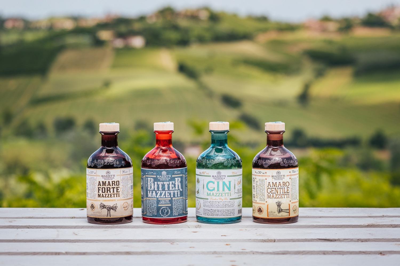Riconoscimenti per grappe e amari di Mazzetti d'Altavilla