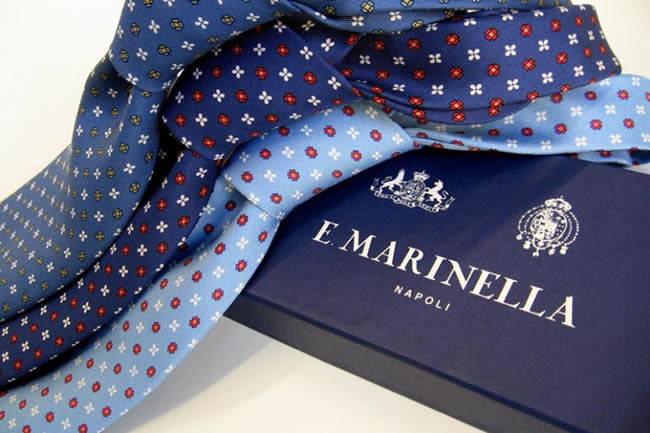 Le cravatte di Marinella in esposizione al MoMa