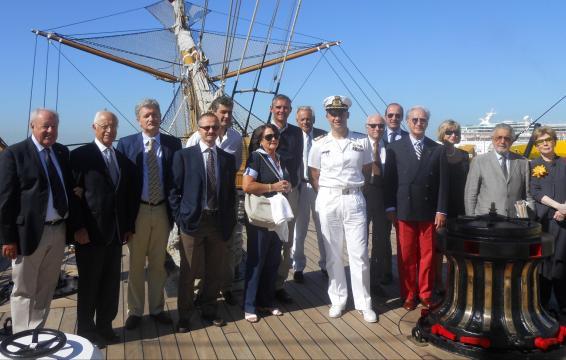 La Nave Scuola Amerigo Vespucci festeggia i 90 anni