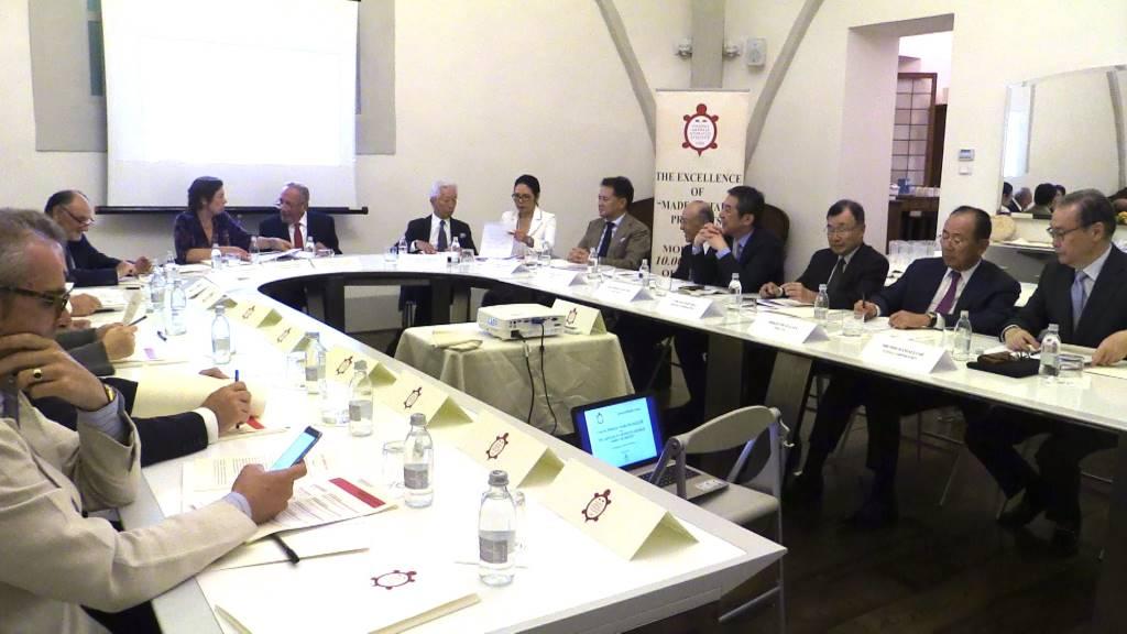 Il meeting con i rappresentanti di Spirit of SHINISE