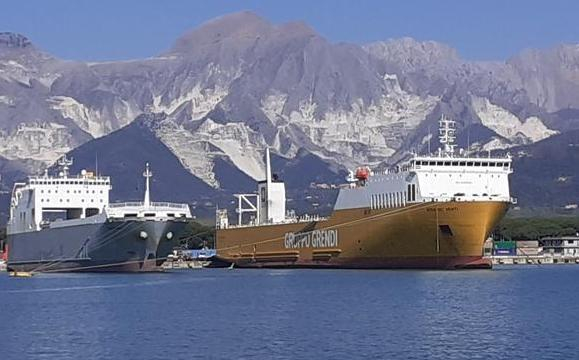 Grendi potenzia linea Cagliari-Marina di Carrara
