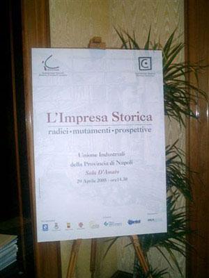 A Napoli un convegno sui temi dell'Impresa Storica