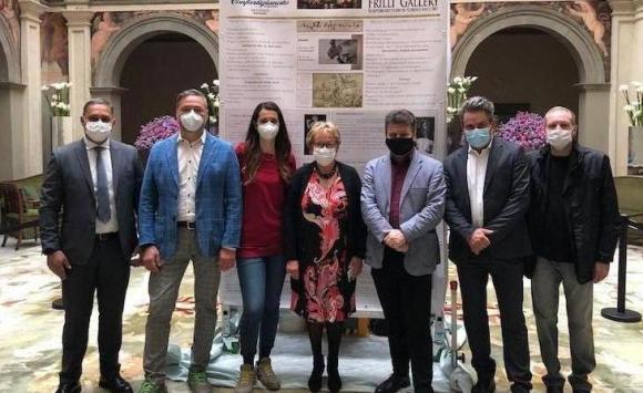 Galleria Frilli e il restauro della copia del Bacco