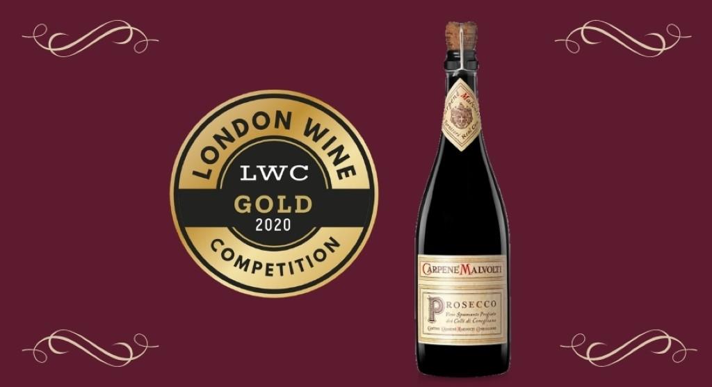 Carpenè Malvolti premiato alla London Wine Competition
